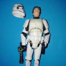 Figuras y Muñecos Star Wars: STAR WARS FIGURA HAN SOLO STORMTROOPER CASCO. Lote 195331763