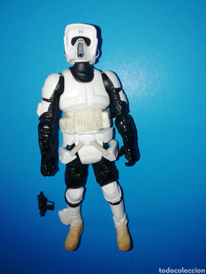 STAR WARS FIGURA SCOUT TROOPER (Juguetes - Figuras de Acción - Star Wars)