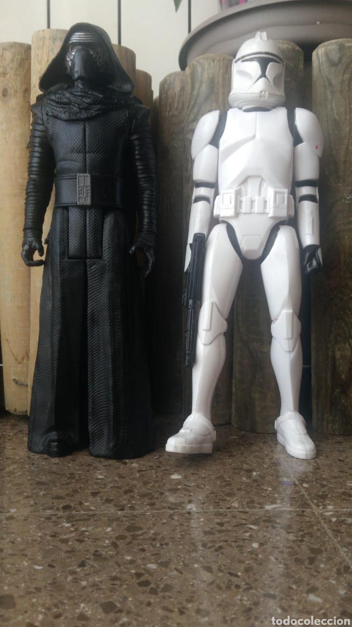 LOTE DOS FIGURAS STAR WARS HASBRO (Juguetes - Figuras de Acción - Star Wars)