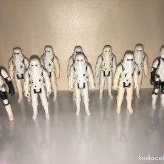 Figuras y Muñecos Star Wars: SNOWTROOPER LOTE - BIKER SCOUT - LOTE DE 10 FIGURAS - STAR WARS VINTAGE 1980'S. Lote 195346370