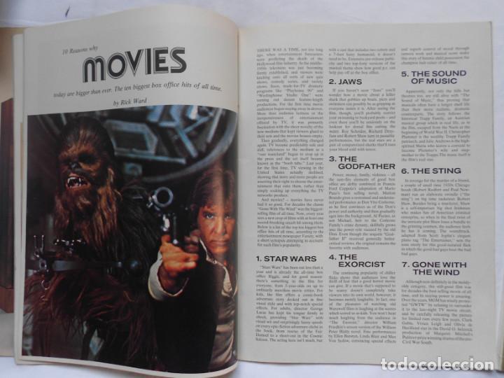 Figuras y Muñecos Star Wars: REVISTA OVERSEAS LIFE APRIL 1978 STAR WARS RARA - Foto 2 - 195371126