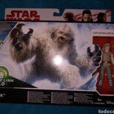 Figuras y Muñecos Star Wars: STAR WARS FIGURAS WAMPA & LUKE SKYWALKER HOTH. Lote 195516456