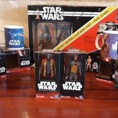 Figuras y Muñecos Star Wars: LOTE DE FIGURAS TAZAS CERAMICAS LLAVEROS DE STAR WARS TODO CON SUS CAJAS LO QUE VES EN LAS FOTOS. Lote 195564466