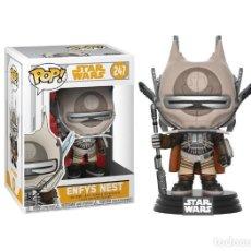 Figuras y Muñecos Star Wars: ENFYS NEST NUEVO BOBBLE-HEAD FUNKO POP! 247 STAR WARS VINYL FIGURA. Lote 195587043