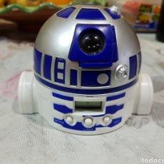 Figuras y Muñecos Star Wars: RELOJ DESPERTADOR STAR WARS COLA CAO R2D2. Lote 196286495