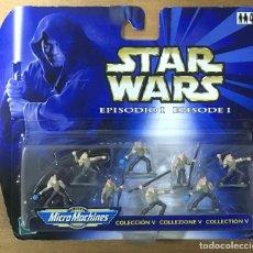 Figuras y Muñecos Star Wars: STAR WARS EPIDODIO I - COLECCIÓN V - MICROMACHINES. Lote 196487262