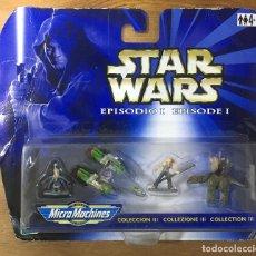 Figuras y Muñecos Star Wars: STAR WARS EPIDODIO I - COLECCIÓN III - MICROMACHINES. Lote 196488081