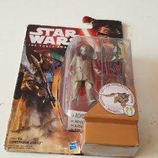 Figurines et Jouets Star Wars: STAR WARS THE FORCE AWAKENS CONSTABLE ZUVIO EN SU BLÍSTER. Lote 197110677