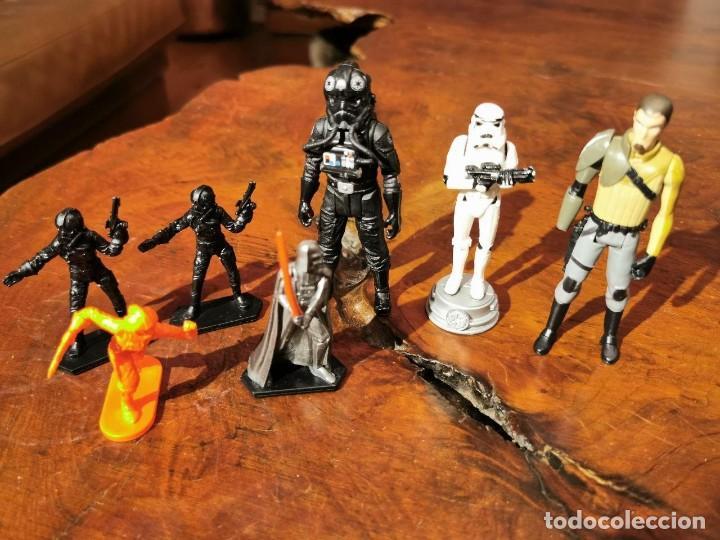 FIGURAS DE STAR WARS Y OTROS PERSONAJES GALACTICOS. (Juguetes - Figuras de Acción - Star Wars)