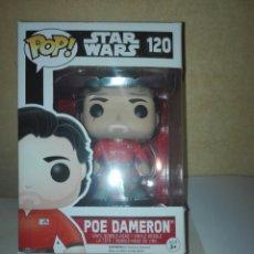 Figuras y Muñecos Star Wars: FUNKO POP STAR WARS,,120 POE CAMERON,114 REY. Lote 197877813