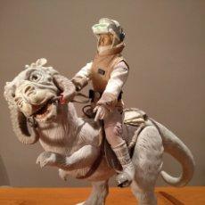 Figuras y Muñecos Star Wars: RARA FIGURA STAR WARS. HASBRO. THE EMPIRE STRIKES BACK. LUKE SKYWALKER Y TAUNTAUN.,. Lote 197940028