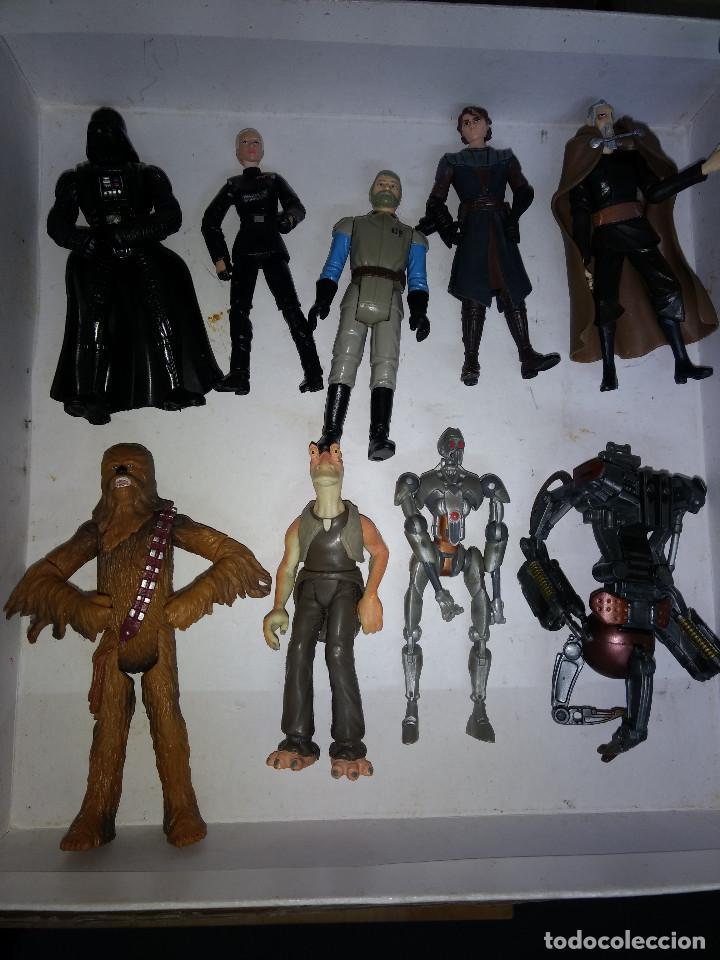 STAR WARS LOTE DE 9 FIGURAS -BUEN PRECIO (Juguetes - Figuras de Acción - Star Wars)