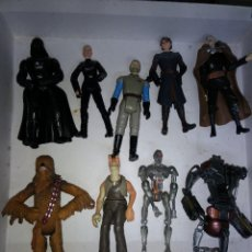 Figuras y Muñecos Star Wars: STAR WARS LOTE DE 9 FIGURAS -BUEN PRECIO. Lote 198473111