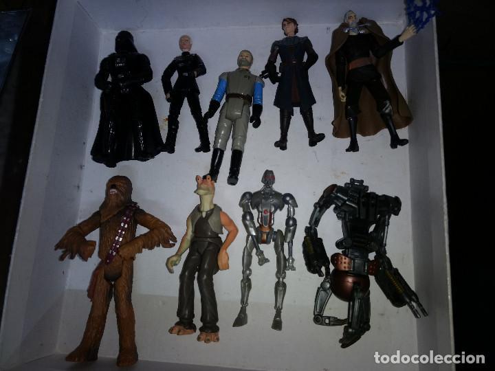 Figuras y Muñecos Star Wars: STAR WARS LOTE DE 9 FIGURAS -BUEN PRECIO - Foto 2 - 198473111