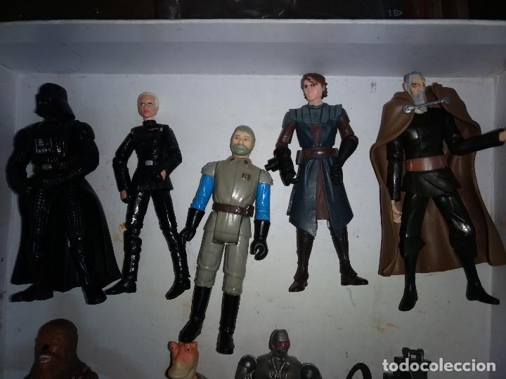 Figuras y Muñecos Star Wars: STAR WARS LOTE DE 9 FIGURAS -BUEN PRECIO - Foto 3 - 198473111