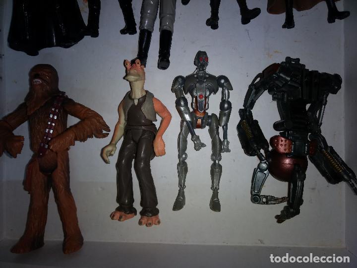 Figuras y Muñecos Star Wars: STAR WARS LOTE DE 9 FIGURAS -BUEN PRECIO - Foto 4 - 198473111