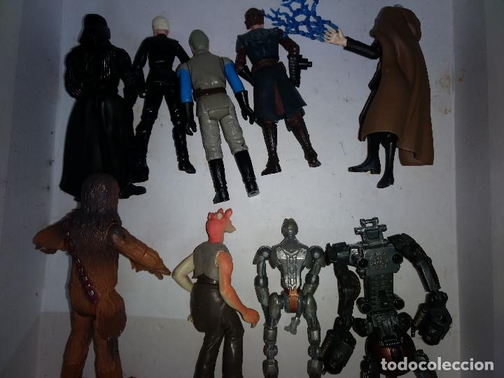 Figuras y Muñecos Star Wars: STAR WARS LOTE DE 9 FIGURAS -BUEN PRECIO - Foto 5 - 198473111