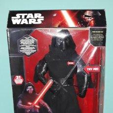 Figuras y Muñecos Star Wars: FIGURA DE GRAN TAMAÑO DE KYLO REN DE STAR WARS ORIGINAL DESCATALOGADO A ESTRENAR. Lote 198474607