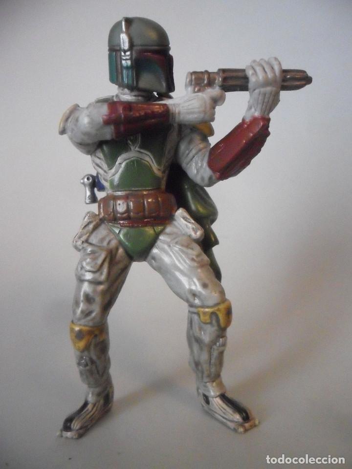 STAR WARS BOBA FETT FIGURA DE PVC LFL 2007 (Juguetes - Figuras de Acción - Star Wars)