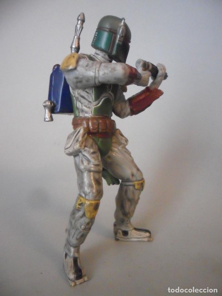 Figuras y Muñecos Star Wars: STAR WARS BOBA FETT FIGURA DE PVC LFL 2007 - Foto 2 - 199180428