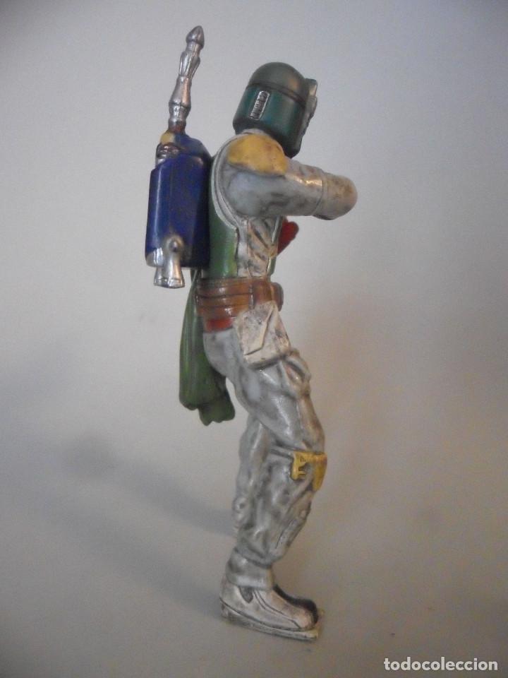 Figuras y Muñecos Star Wars: STAR WARS BOBA FETT FIGURA DE PVC LFL 2007 - Foto 3 - 199180428
