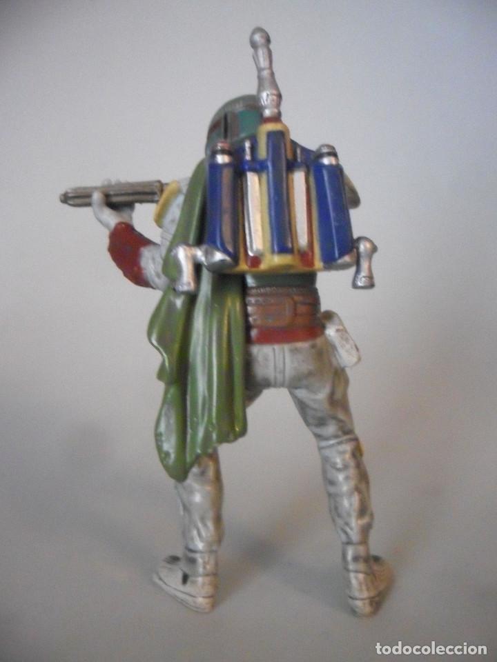 Figuras y Muñecos Star Wars: STAR WARS BOBA FETT FIGURA DE PVC LFL 2007 - Foto 4 - 199180428