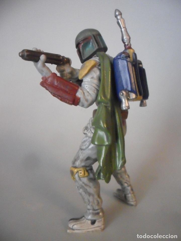 Figuras y Muñecos Star Wars: STAR WARS BOBA FETT FIGURA DE PVC LFL 2007 - Foto 5 - 199180428