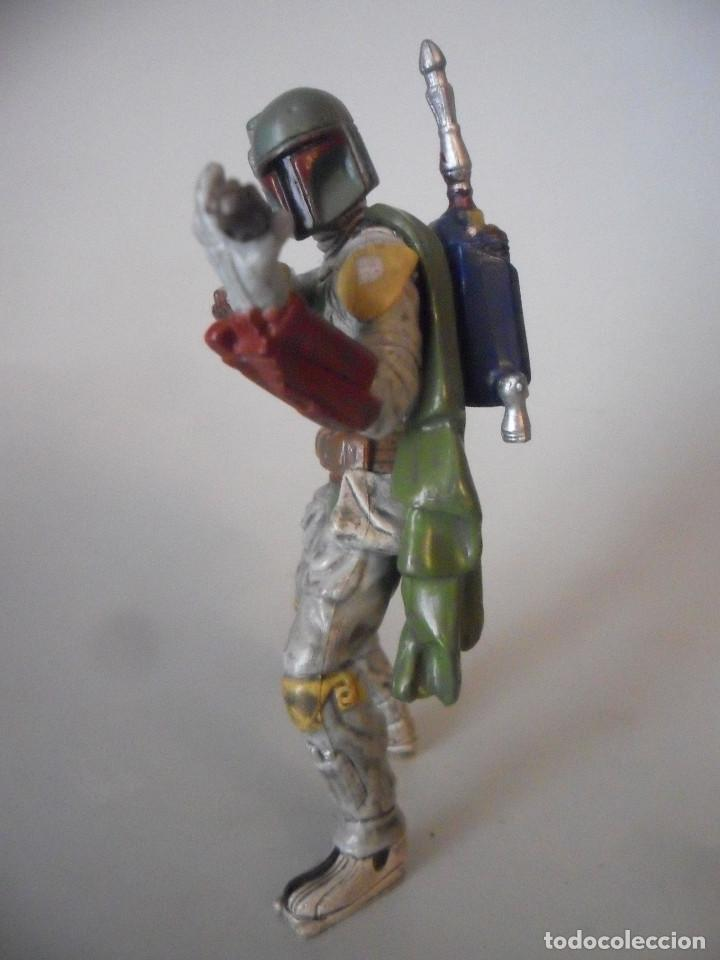 Figuras y Muñecos Star Wars: STAR WARS BOBA FETT FIGURA DE PVC LFL 2007 - Foto 6 - 199180428