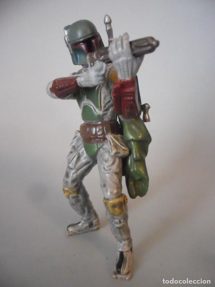 Figuras y Muñecos Star Wars: STAR WARS BOBA FETT FIGURA DE PVC LFL 2007 - Foto 7 - 199180428