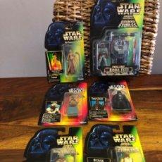 Figuras y Muñecos Star Wars: LOTE 6 FIGURAS STAR WARS BLISTER KENNER.. Lote 200332337