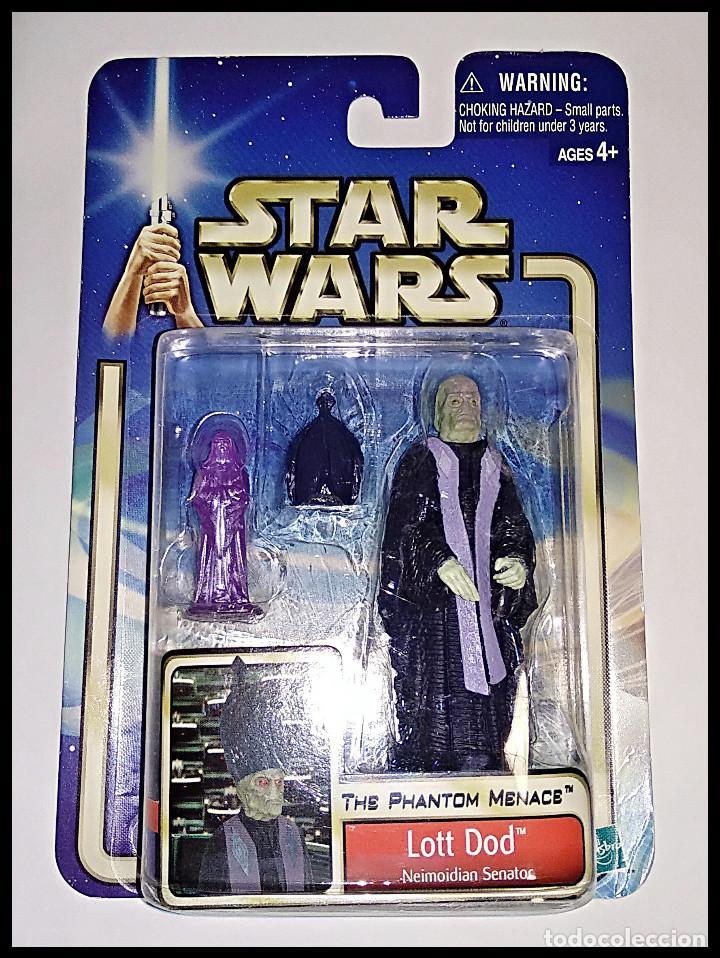 STAR WARS # LOTT DOD # ATTACK OF THE CLONES - NUEVO EN SU BLISTER ORIGINAL DE HASBRO.. (Juguetes - Figuras de Acción - Star Wars)