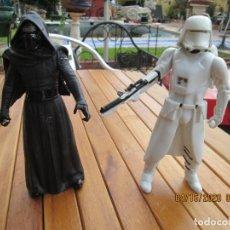Figuras y Muñecos Star Wars: LOTE 2 FIGURAS STAR WARS - KYLO REN/SNOWTROOPER 1ª ORDEN - HASBRO. . Lote 200554703