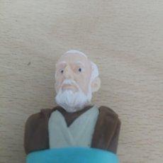 Figuras y Muñecos Star Wars: OBI-WAN KENOBI FIGURA TAMPON SELLO BUSTOS STAR WARS - GUERRA DE LAS GALAXIAS LUCAS FILM LTD. Lote 200808102