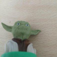 Figuras y Muñecos Star Wars: YODA FIGURA TAMPON SELLO BUSTOS STAR WARS - GUERRA DE LAS GALAXIAS LUCAS FILM LTD. Lote 200808575