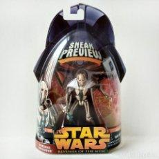 Figuras y Muñecos Star Wars: STAR WARS - EPISODIO III - SNEAK PREVIEW 1: GENERAL GRIEVOUS (9.5 CM) HASBRO 2005. Lote 202776133