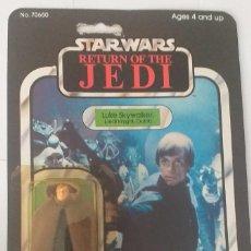 Figuras y Muñecos Star Wars: LUKE SKYWALKER JEDI KNIGHT MOC OPEN 65 BACK STAR WARS VINTAGE. Lote 202884408