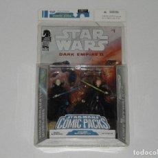 Figuras e Bonecos Star Wars: STAR WARS COMIC PACKS # 1 DARK EMPIRE II 2 FIGURAS EN BLISTER NUEVO A ESTRENAR. JS/FJ. Lote 203011887