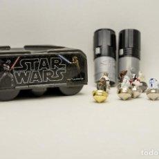 Figuras y Muñecos Star Wars: JUEGO BATALLA DE PEONZAS STAR WARS. Lote 203394092
