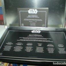 Figuras y Muñecos Star Wars: STAR WARS COLECCION DE 60 LITROGRAFIAS SERIE LIMITADA. Lote 203568727