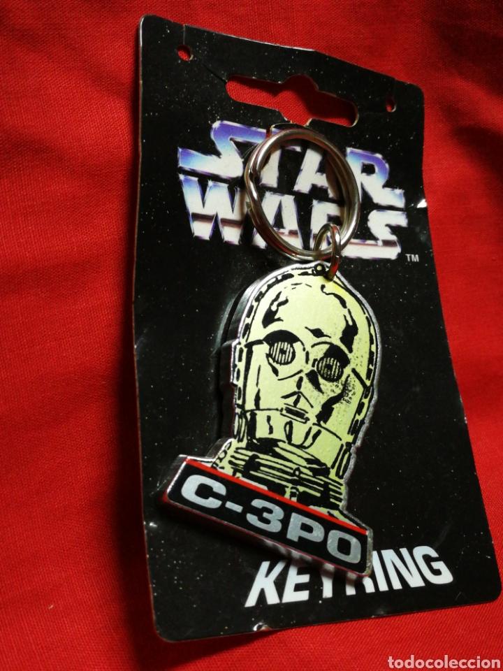 Figuras y Muñecos Star Wars: LLAVERO STAR WARS C-3PO, KEYRING- PRODUCTO OFICIAL, LUCASFILM 1996. RARO!!!. - Foto 2 - 203773272