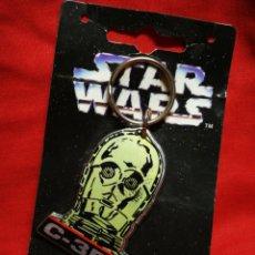 Figuras y Muñecos Star Wars: LLAVERO STAR WARS C-3PO, KEYRING- PRODUCTO OFICIAL, LUCASFILM 1996. RARO!!!.. Lote 203773272