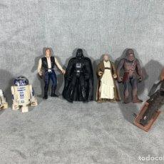 Figuras e Bonecos Star Wars: COLECCIÓN X 7 FIGURAS STAR WARS- KENNER 1995. Lote 203831245