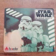 Figuras y Muñecos Star Wars: STAR WARS ALFOMBRILLA CLONE TROOPERS EJÉRCITO IMPERIAL STORMTROOPERS A NEW HOPE BOEDER AÑO 1996.PTOY. Lote 203857572