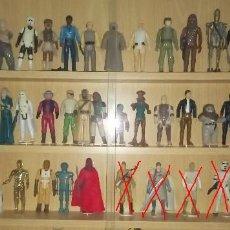 Figuras y Muñecos Star Wars: KENNER STAR WARS 1977-83.FARMBOY LEIA ORGANA CHEWBACCA KENOBI VADER RD D2 3C PO BOBA FETT HAN SOLO. Lote 204079952