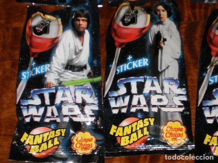 Figuras y Muñecos Star Wars: CHUPA CHUPS - SERIE STAR WARS - 8 SOBRES con su chupachup - DIFERENTES Y SIN ABRIR - 1996 - Foto 6 - 204177760