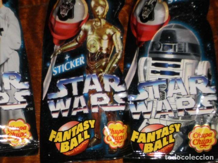 Figuras y Muñecos Star Wars: CHUPA CHUPS - SERIE STAR WARS - 8 SOBRES con su chupachup - DIFERENTES Y SIN ABRIR - 1996 - Foto 10 - 204177760