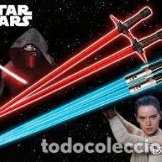 Figure e Bambolotti Star Wars: STAR WARS KYLO REN & REY BATTLE SET CHOPSTICKS PALILLOS CHINOS KOTOBUKIYA. Lote 204316678