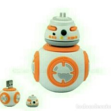 Figuras y Muñecos Star Wars: PENDRIVE 32GB NUEVO BB-8 STAR WARS BB8. Lote 204439058