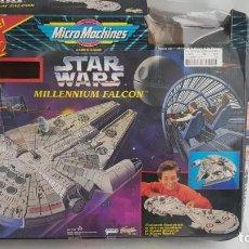 Figuras y Muñecos Star Wars: HALCON MILENARIO - MILLENNIUM FALCON DE STARWARS. 1995. MICROMACHINES. Lote 204632437