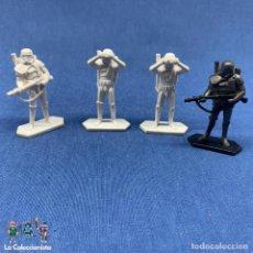 Figuras e Bonecos Star Wars: LOTE 4 FIGURAS SOLDADO IMPERIAL - DEATH TROPPER - STAR WARS - 6 CM CADA UNO - HASBRO 2014. Lote 204756568